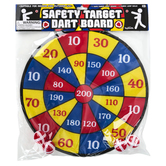 Toysmith, Safety Target Dart Board, Ages 5 and Older, 5 Pieces