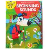 Scholastic, Little Skill Seekers: Beginning Sounds Activity Book, 48 Pages, Grades PreK-1
