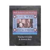 Bright Ideas Press, All American History, Vol. 2: Teacher Guide with Answer Key, by Celeste W. Rakes, Paperback