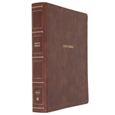 NKJV Wide Margin Large Print Reference Bible, Imitation Leather, Multiple Colors Available