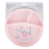 Stephen Joseph, Sloth Suction Cup Plate, Silicone, Pink, 8 inches