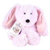 Warmies Cozy Plush Bunny, Microwavable, Lavender Scent, Light Pink, 13 inches