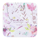 Legacy Publishing Group, Grace Not Perfection Coaster, 3 3/4 inches