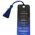 Soul Anchor, James 5:16 Lapel Pin with Bookmark, Paper and Metal, Navy, 6 inches