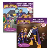 Bibleman, Braving the Big Battle with the Baroness / Repelling the Ronin of Wrong, Flip-Over Book