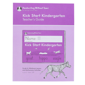 Handwriting Without Tears, Kick Start Kindergarten Teacher's Guide, Paperback, Grade PreK