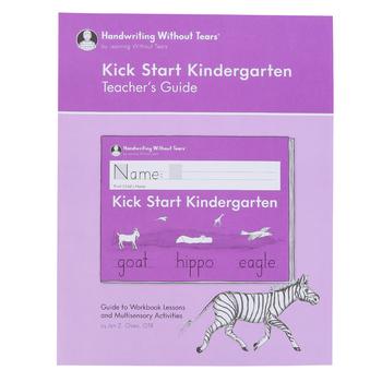 Handwriting Without Tears, Kick Start Kindergarten Teacher's Guide, Paperback, Grade PreK