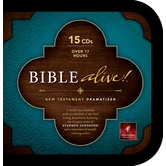 NLT Bible Alive! Dramatized New Testament, 15 CDs