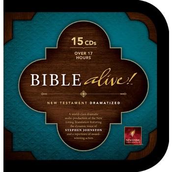 NLT Bible Alive! Dramatized New Testament, 15 CDs