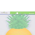Renewing Minds, Pineapple Shaped Notepad, 6-1/2 x 8 Inches, Yellow and Green, 50 Sheets