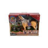 Sunny Days, Blue Ribbon Deluxe Horse Set, Ages 4 to 12 Years Old, 14 Pieces