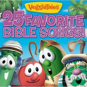 25 Favorite Bible Songs, by VeggieTales, CD