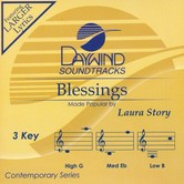 Blessings, Accompaniment Track, As Made Popular by Laura Story, CD