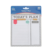 Carson-Dellosa, Today's Plan Notepad, 5.75 x 6.25 Inches, 50 Sheets