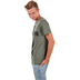 NOTW, John 3:16 For God So Loved Cross, Men's Short Sleeve T-shirt, Military Green Heather, Small
