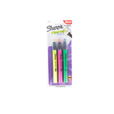 Sharpie, Clear View Highlighter, Chisel Tip, Assorted Colors, Pack of 3