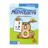 Preschool Prep Company, Meet the Math Facts Flashcards Level 1, Multi-Colored, Grades PreK-3