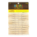 Woodpile Fun, Natural Wood Mini Clothespins, 1 7/8 inches, Set of 24