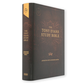 CSB Tony Evans Study Study Bible, Hardcover, Brown