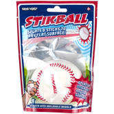Hog Wild Toys, Stikball Baseball Toy, 3 inches, Ages 4 & Older