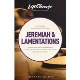Jeremiah & Lamentations, LifeChange Bible Study Series, by The Navigators, Paperback