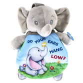 Ebba, Do Your Ears Hang Low Plush Elephant with Book, Story Pals, 9 inches
