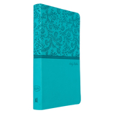 KJV Value Thinline, Imitation Leather, Turquoise