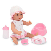 Melissa & Doug, Annie Drink and Wet Doll, Ages 3 Years and Older, 6 Pieces