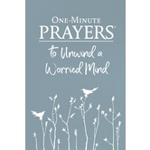 One-Minute Prayers to Unwind a Worried Mind, by Hope Lyda, Hardcover