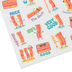 Eureka, Bacon Scented Self-Adhesive Stickers, Multi-Colored, Variety of Sizes, Pack of 80