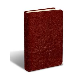 MSG The Message Large Print Bible, Bonded Leather, Burgundy