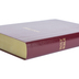 NIV Reference Bible, Giant Print, Imitation Leather, Burgundy, Thumb Indexed