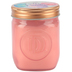 Winfield Home Decor, Cotton Candy Mason Jar Candle, Pink, 10 1/2 Ounces