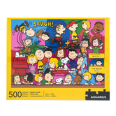 Aquarius, Peanuts Jigsaw Puzzle, 500 Pieces, 14 x 19 inches Completed