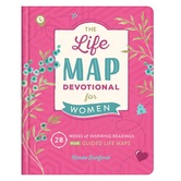 Life Map Devotional for Women, by Renee Sanford, Hardcover