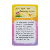 Blue Mountain Arts, You Are One Amazing Lady Wallet Card, 2 x 3 1/4 inches
