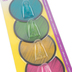 Teacher Created Resources, Clingy Thingies Chalkboard Brights Hooks, 3.125 Inches, 4 Colors, Set of 4