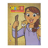 BJU Press, Math 3 Student Worktext, 4th Edition, Paperback, Grade 3