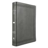 NKJV Jeremiah Study Bible, Large Print, Imitation Leather, Black