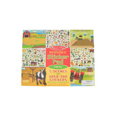 Melissa & Doug, Reusable Sticker Pad, Farm, Over 280 Stickers, 14 x 11 Inches, Ages 3 and up