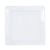 Brother Sister Design Studio, Clear Plastic Serving Platter, Square, Large 16 x 16 x 1.25 Inches, 1 Each