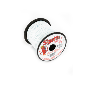 Pepperell Crafts, S'getti Strings, White, 50 yards