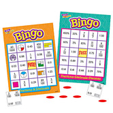Trend, Fractions, Decimals and Percents Bingo Game, Ages 10 years and Older, 3 to 36 Players