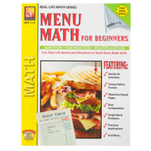 Remedia Publications, Menu Math For Beginners, Paperback, 48-Pages, Grades 1-3