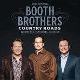 Country Roads: Country And Inspirational Favorites, by The Booth Brothers, CD