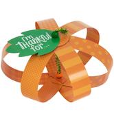 Brother Sister Design Studio, Thankful Pumpkins Craft Kit, Orange & Green, Makes 12 Pumpkins