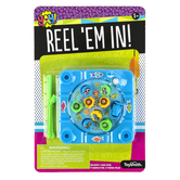 Toysmith, Reel 'Em In Fishing Game, Plastic, Assorted Colors, Ages 5 Years and Older