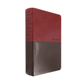 NLT Personal Size Large Print Bible, Duo-Tone, Multiple Colors Available