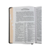 KJV Reference Bible, Giant Print, Bonded Leather, Black, Thumb Indexed
