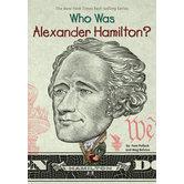 Who Was Alexander Hamilton by Pam Pollack, Meg Belviso, and Dede Putra, Paperback